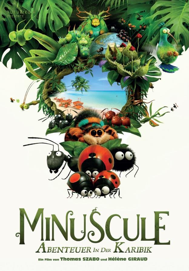 Minuscule Abenteuer in der Karibik Cover