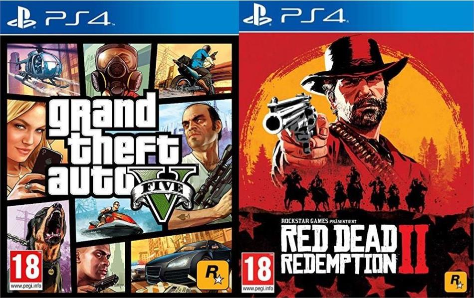 Rockstar Bundle (Red Dead Redemption 2 + GTA 5)