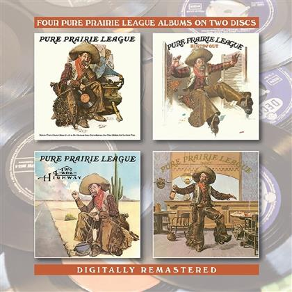Pure Prairie League - 4 Albums (2 CDs)