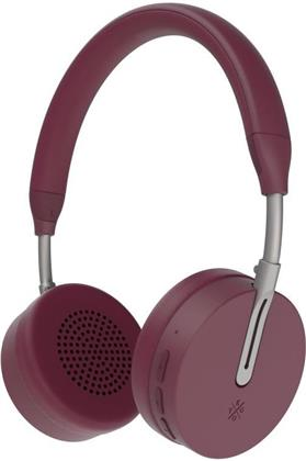 Kygo A6/500 BT OnEar Headphones - burgundy