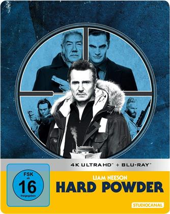 Hard Powder (2019) (Limited Edition, Steelbook, 4K Ultra HD + Blu-ray)