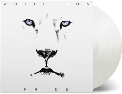 White Lion - Pride (Music On Vinyl, 2019 Reissue, White Vinyl, LP)