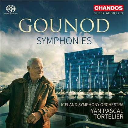 Iceland Symphony Orchestra, Charles François Gounod (1818-1893) & Yan Pascal Tortelier - Symphonies 1 & 2 (Hybrid SACD)