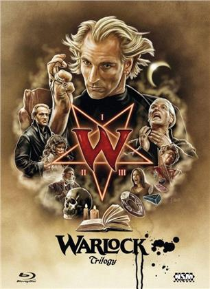 Warlock 1-3 - Trilogy (Cover B, Limited Edition, Mediabook, 3 Blu-rays)