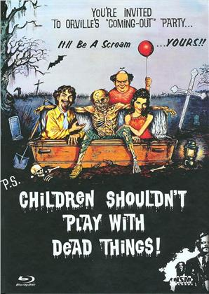 Children Shouldn't Play with Dead Things (1972) (Cover A, Limited Collector's Edition, Mediabook, Blu-ray + DVD)