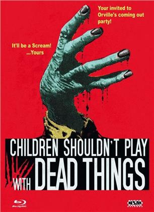 Children Shouldn't Play with Dead Things (1972) (Cover B, Limited Collector's Edition, Mediabook, Blu-ray + DVD)