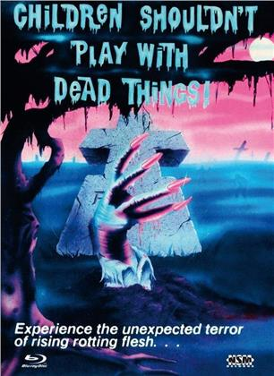 Children Shouldn't Play with Dead Things (1972) (Cover C, Limited Collector's Edition, Mediabook, Blu-ray + DVD)