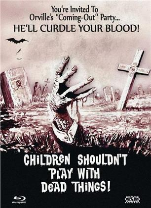 Children Shouldn't Play with Dead Things (1972) (Cover E, Limited Collector's Edition, Mediabook, Blu-ray + DVD)