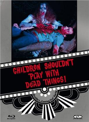 Children Shouldn't Play with Dead Things (1972) (Cover D, Limited Collector's Edition, Mediabook, Blu-ray + DVD)