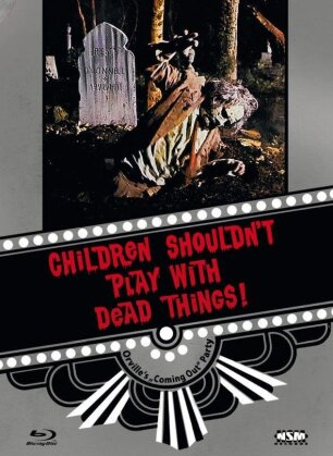 Children Shouldn't Play with Dead Things (1972) (Cover F, Limited Collector's Edition, Mediabook, Blu-ray + DVD)