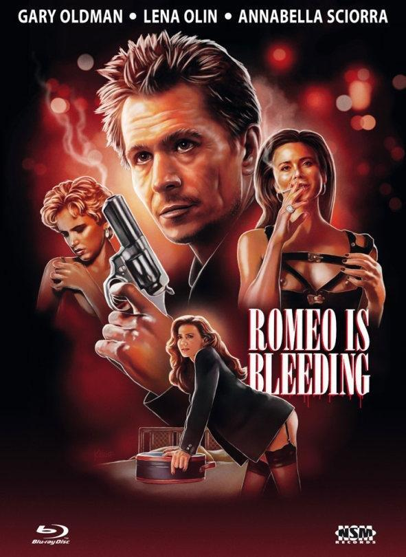 Romeo Is Bleeding (1993) (Cover B, Limited Edition, Mediabook, Blu-ray + DVD)