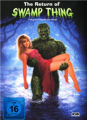 The Return of Swamp Thing (1989) (Cover B, Limited Edition, Mediabook, Blu-ray + DVD)