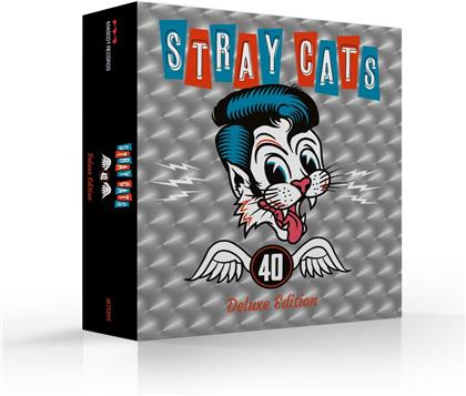 Stray Cats - 40 (Bonustracks, Limited Deluxe Edition)