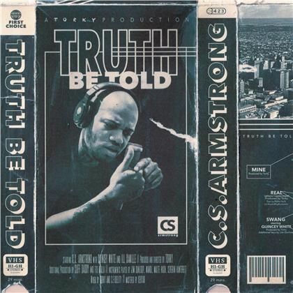 C.S. Armstrong - Truth Be Told (Deluxe Edition, Crip Blue Vinyl, 2 LPs)