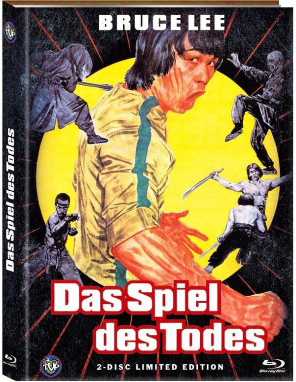 Bruce Lee - Das Spiel des Todes (1978) (Cover A, Limited Edition, Mediabook, Blu-ray + DVD)
