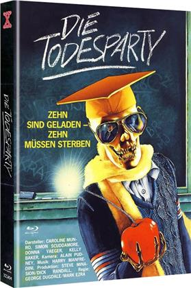 Die Todesparty (1986) (Cover A, Limited Edition, Mediabook, Uncut, Blu-ray + DVD)