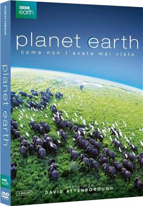 Planet Earth (2006) (BBC Earth, Special Edition, 4 DVDs)