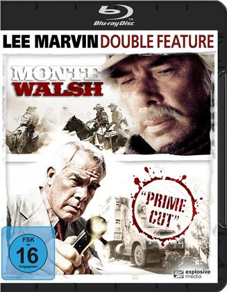 Lee Marvin Double Feature - Monte Walsh (1970) / Prime Cut (1972) (2 Blu-rays)