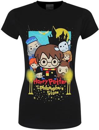 Harry Potter - Cute Poster Art - Ladies T-Shirt