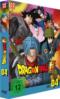 Dragon Ball Super - Vol. 4: Arc 4 - Trunks aus der Zukunft (3 DVDs)