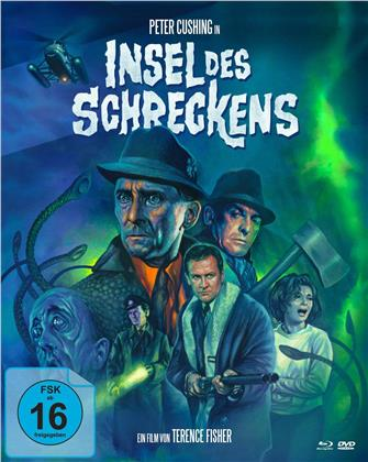 Insel des Schreckens (1966) (Cover A, Mediabook, Blu-ray + DVD)