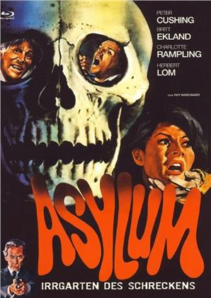 Asylum (1972) (Cover B, Limited Edition, Mediabook, Uncut, Blu-ray + DVD)