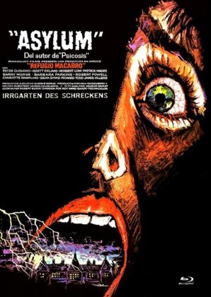 Asylum (1972) (Cover D, Limited Edition, Mediabook, Uncut, Blu-ray + DVD)