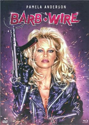 Barb Wire (1996) (Cover B, Limited Edition, Mediabook, Unrated, Blu-ray + DVD)