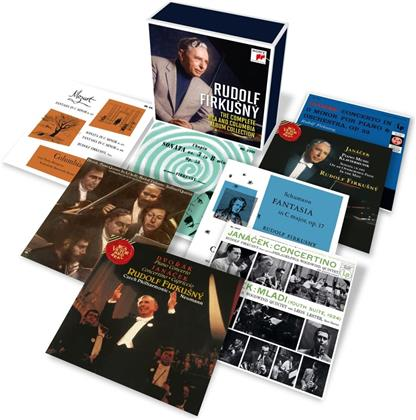 Rudolf Firkusny - Complete RCA And Columbia Album Collection (18 CDs)
