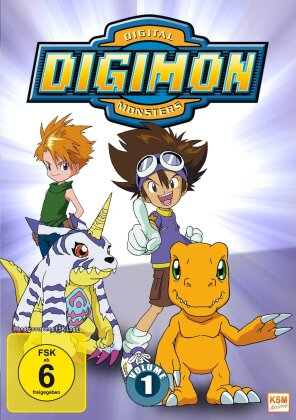 Digimon: Digital Monsters - Adventure - Staffel 1 - Vol. 1 (Neuauflage, 3 DVDs)
