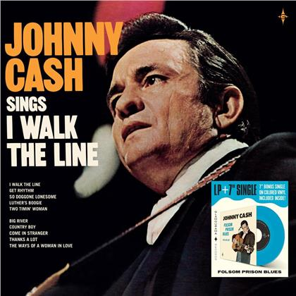 "Johnny Cash - I Walk The Line (LP + 7"" Single)"