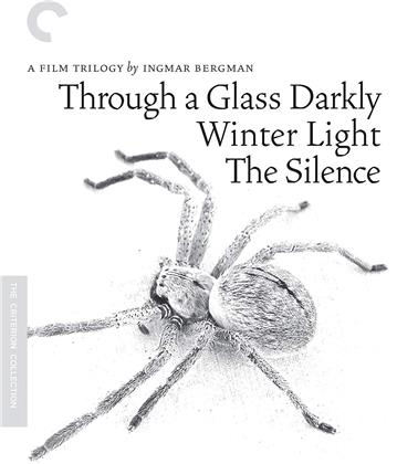 Through a Glass Darkly / Winter Light / The Silence - Film Trilogy By Ingmar Bergman (s/w, Criterion Collection, 3 Blu-rays)