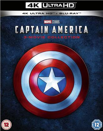 Captain America - 3-Movie Collection (3 4K Ultra HDs + 3 Blu-rays)