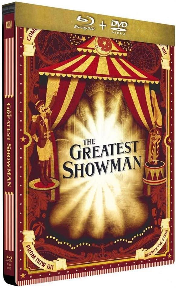 The Greatest Showman (2017) (Limited Edition, Steelbook, Blu-ray + DVD)
