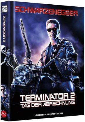 Terminator 2 - Tag der Abrechnung (1991) (Wattiert, Extended Edition, Kinoversion, Limited Collector's Edition, Mediabook, Special Edition, Blu-ray 3D + Blu-ray)