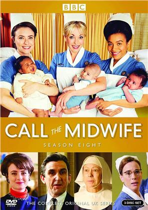 Call The Midwife - Season 8 (BBC, 3 DVDs)