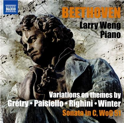 Ludwig van Beethoven (1770-1827) & Larry Weng - Variations On Themes By Gretry, Paisiello & Righini
