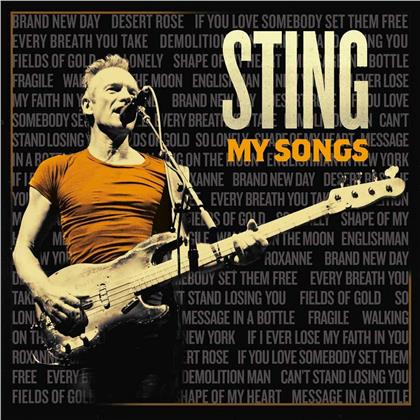Sting - My Songs (Deluxe Edition, Limited Edition)