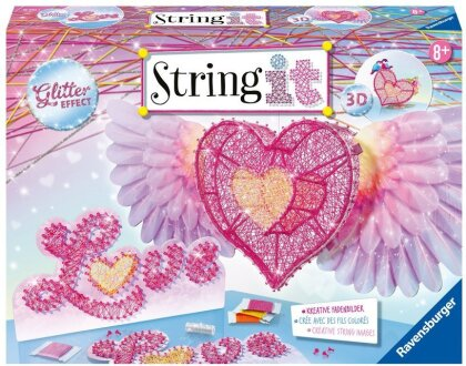 3D-Heart String It