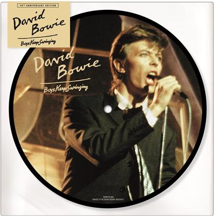 "David Bowie - Boys Keep Swinging (40th Anniversary Edition, Picture Disc, 7"" Single)"