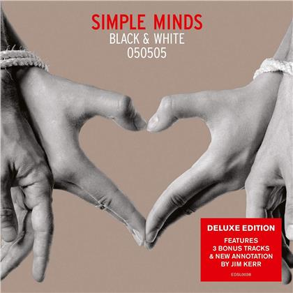 Simple Minds - Black & White (2019 Reissue, Demon Records, Deluxe Edition)