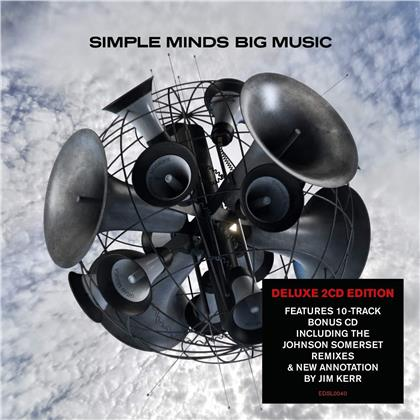 Simple Minds - Big Music (2019 Reissue, Demon Records, Deluxe Edition, 2 CDs)