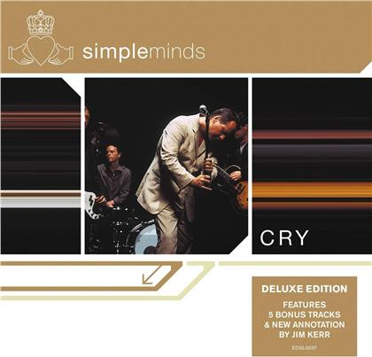 Simple Minds - Cry (2019 Reissue, Demon Records, Deluxe Edition)