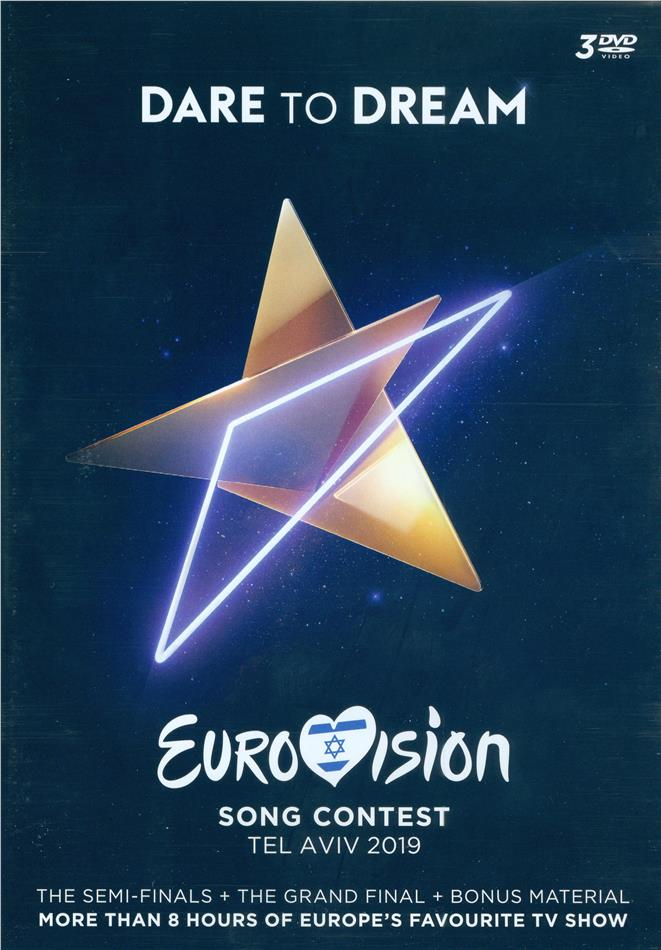 Various Artists - Eurovision Song Contest - Tel Aviv 2019 - Dare To Dream (3 DVDs)
