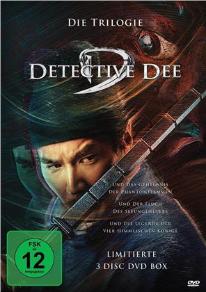 Detective Dee - Die Trilogie (Limited Edition, 3 DVDs)