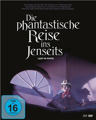 Die phantastische Reise ins Jenseits - Lady in White (1988) (Cover B, Mediabook, 2 Blu-rays + DVD)
