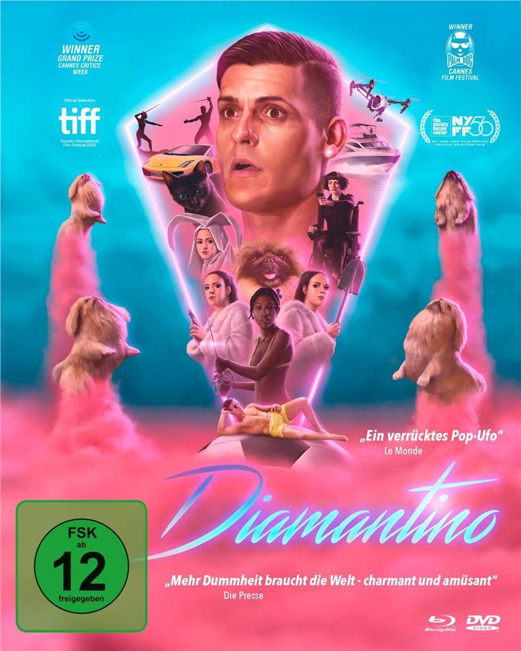 Diamantino (2018) (Mediabook, Blu-ray + 2 DVDs)