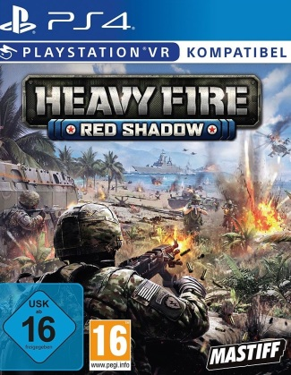 Heavy Fire Red Shadow VR