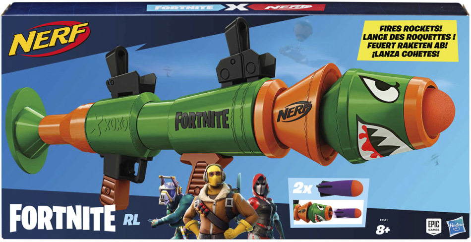 Nerf Fortnite RL - Elite Dart Blaster,