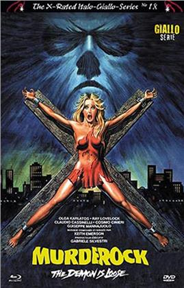 Murder Rock - The Demon is Loose (1984) (The X-Rated Italo-Giallo-Series, Cover B, Limited Edition, Blu-ray + DVD)